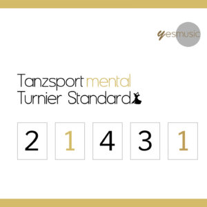Tanzsport mental Turnier Standard CD Cover