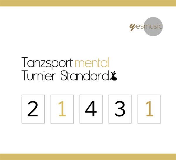 Tanzsport mental Turnier Standard CD Cover